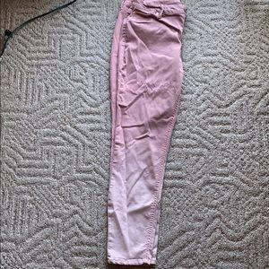 Pink ombré jeggings